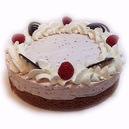Afbeelding van Frambozenbavaroise taart