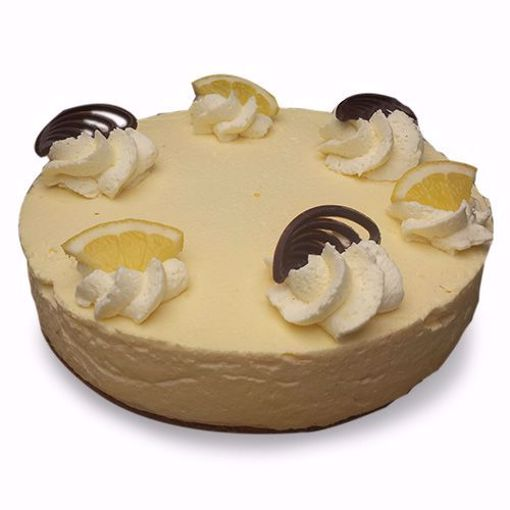 Afbeelding van Citroenbavaroise taart